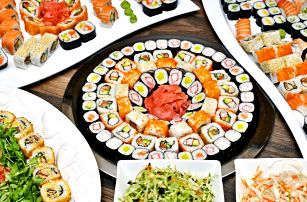 All you can eat plné asijských dobrot na Střeláku