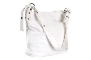 Bella Belly Velká kabelka dámská ekokůže bílá