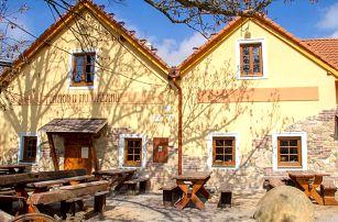 Jižní Morava v penzionu ve vinařské obci Nový Šaldorf u Znojma s privátní saunou snídaní/polopenzí a dalšími bonusy