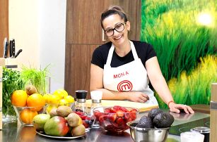 Kurzy vaření s Monou z MasterChefa: různé kuchyně