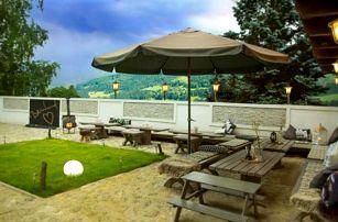 Rakouské Alpy: Pobyt ve slovenském penzionu Bertrand se snídaní