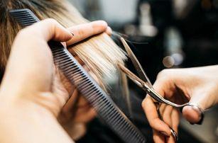 Kadeřnický balíček pro všechny délky vlasů: mytí, střih, barva