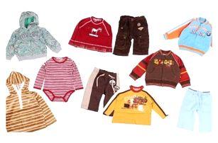 Balíček 10ks oblečení pro děti