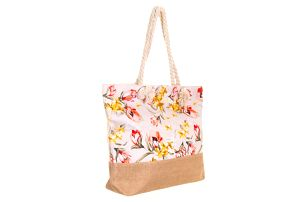 Fashion Icon Dámská plážová taška s květy PY0014-06