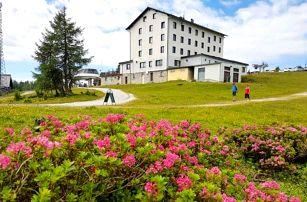 Rakouské Alpy v Hotelu Berghof *** Tauplitzalm u lanovky s polopenzí a saunou
