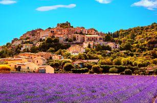 Provence, Marseille, ostrov If i Cannes a Monako