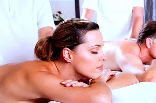 Thajská olejová masáž pro páry: 60 nebo 90 minut