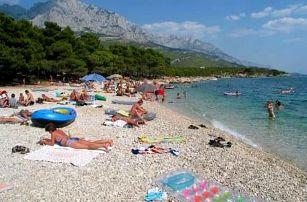 Chorvatsko: 10 dní pro 1 osobu ve stanu, doprava autobusem