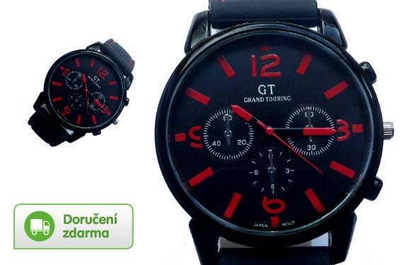 10fefb1e8 Elegantní pánské hodinky. Stylové pánské hodinky Grand Touring ...