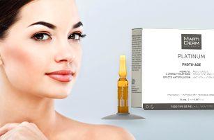 Vitaminové ampule s UV filtrem pro rozjasnění pleti