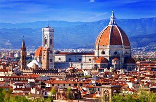 Itálie, Florencie, autobusem na 4 dny
