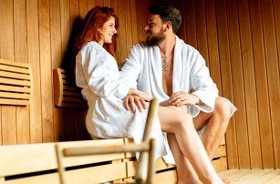 Wellness s atmosférou džungle: vířivka i sauna