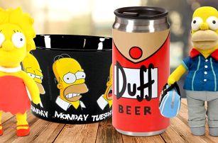 Oficiální kolekce 12 předmětů The Simpsons