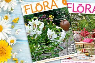 Roční předplatné časopisu Flóra s dalšími bonusy