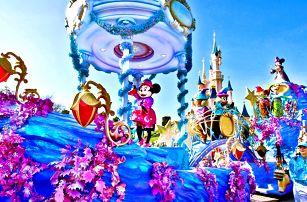Zájezd do Paříže a Disneylandu na 1 nebo 2 noci