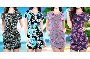 Letní bavlněné květované šaty: 6 druhů