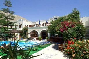 Řecko, Santorini, letecky na 8 dní bez stravy