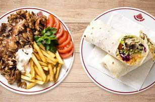 Kebab v centru Prahy: 3 druhy pro 1 nebo 2 osoby