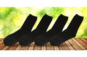 10 párů vysokých pánských ponožek z bambusu