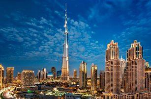 Spojené arabské emiráty, letecky na 8 dní snídaně