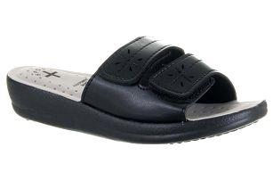 Feixu Soft Dámské pantofle SUN se suchými zipy umělá kůže ZV0042-0902