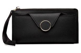 Dámská černá peněženka Selina 6884