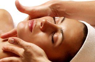Liftingová omlazující masáž obličeje vč. čištění