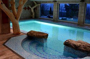 Podzim v Hotelu Podlesí s bazénem, vířivkou či masáží