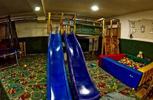 Podzim v hotelu s největší dětskou hernou v Beskydech ve všední dny