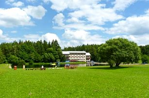 Vysočina v depandanci Hotelu Renospond s polopenzí a wellness procedurami