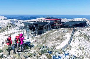 Nízké Tatry blízko skiareálů v Penzionu Troika se snídaní, saunou a vínem