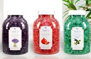 Aromatické soli do koupele: Alpské byliny i Oliva