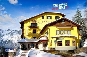 5denní Paganella se skipasem   Hotel Santellina***   Doprava, ubytování, polopenze a skipas