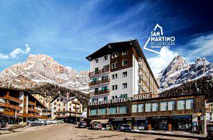 5denní Dolomiti Superski se skipasem   Hotel Cimone Excelsior***   Doprava, ubytování, polopenze a skipas