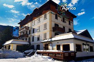 5denní Aprica se skipasem   Hotel Posta***   Doprava, ubytování, polopenze a skipas