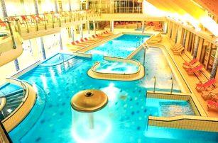 Maďarsko poblíž Budapešti: Velence Resort & Spa **** s polopenzí a luxusním wellness (3 600 m²) + děti zdarma