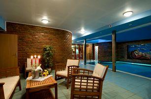 Grand Hotel Třebíč v historickém centru s polopenzí a bazénem