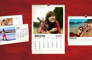Fotokalendář z vlastních fotografií a událostí