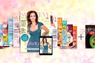 Roční předplatné časopisu Svět ženy + kuchařka