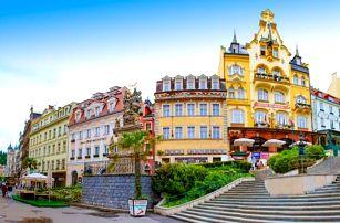 Karlovy Vary v Hotelu Krásná Královna **** s polopenzí a vstupem do lázní