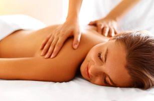 Výběr ze 3 druhů masáží v délce 30 až 60 minut