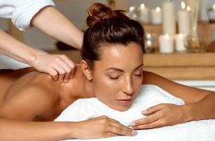 60 minut relaxu a hýčkání: výběr ze 3 masáží