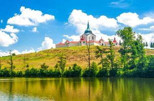 Vysočina: Žďárské vrchy v Penzionu Sykovec s polopenzí a wellness s vířivkou