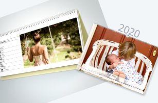 Stolní i nástěnné fotokalendáře z vašich fotografií