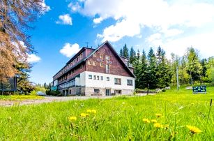 Jizerské hory: Josefův Důl v Hotelu Maxov *** s polopenzí a vstupem do sauny