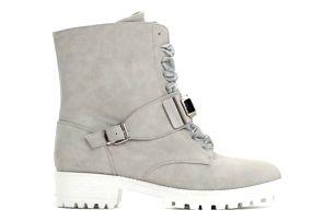 Dámské šedé kotníkové boty Gloria 1295