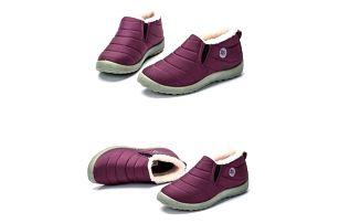 Unisex zimní kotníkové boty - Růžová-velikost 38 - dodání do 2 dnů
