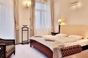 Hotel Sun v Mariánských Lázních s procedurami, bazénem a polopenzí