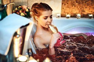 Báječná romantika: 3chodové menu a wellness pro 2