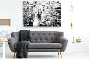 Mozaikový obraz z vlastních fotografií